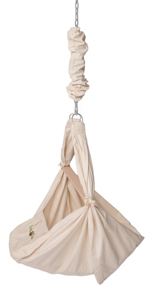 BabyBubu Federwiege 3in1 - Babyhängematte Hängesessel & Wiege in einem - Foto: Amazon
