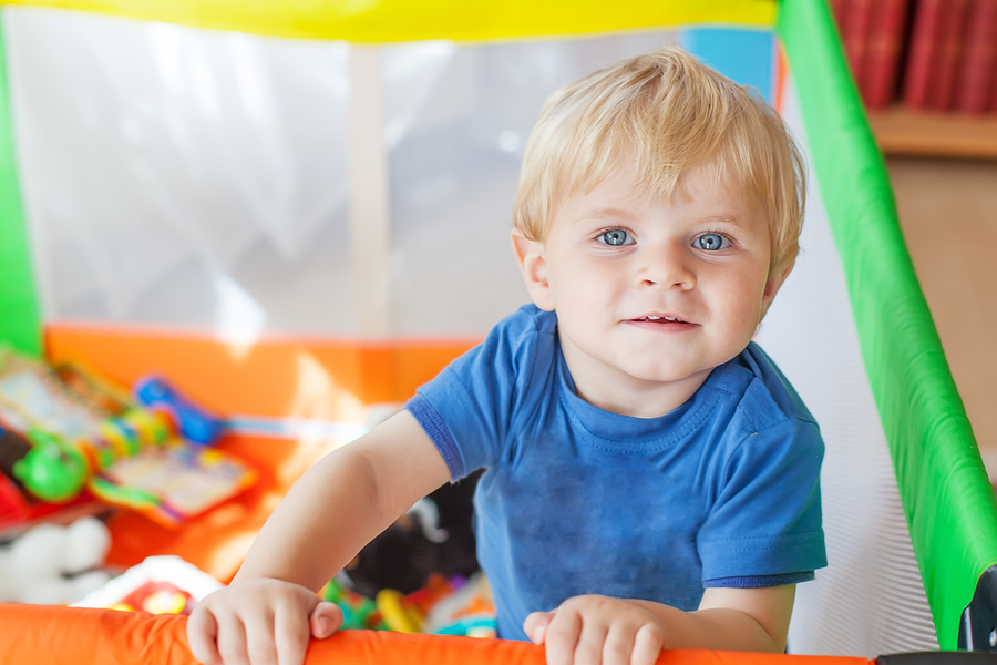 Laufstall für Babys und Kleinkinder