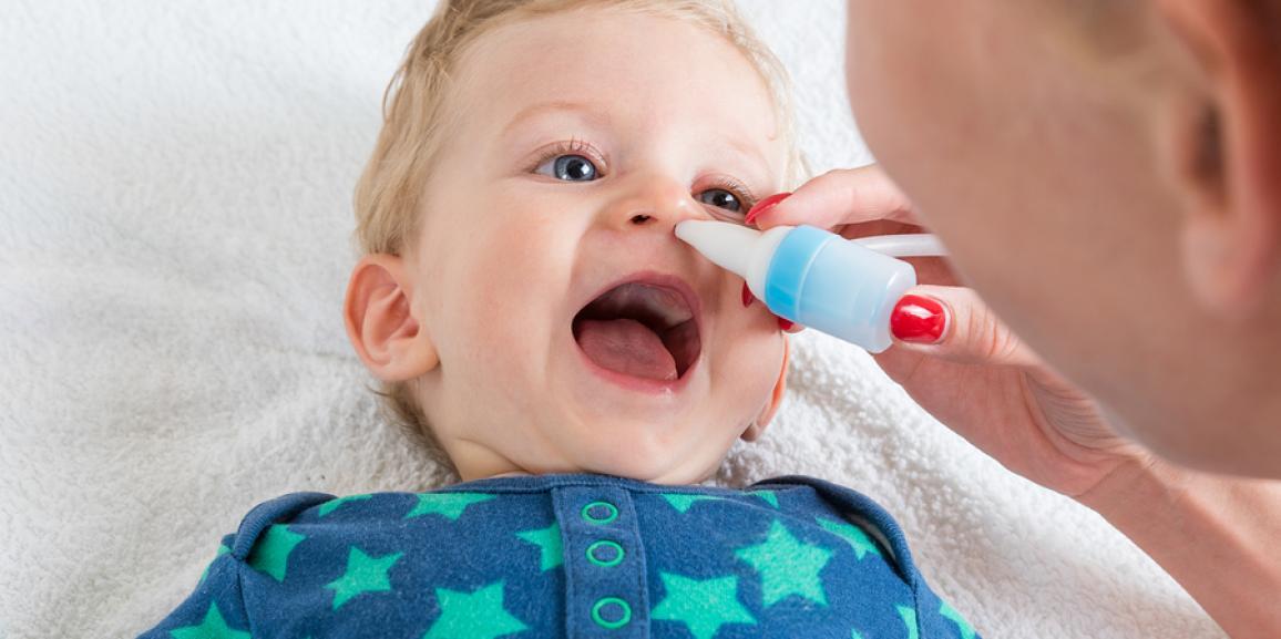 Der Nasensauger für das Baby